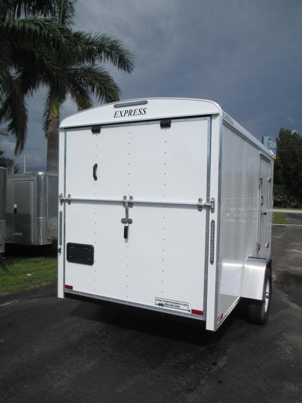 NEW 6x12  Commercial Duty Trailer w/Ramp V-nose