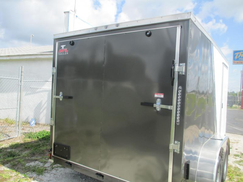 NEW 7X12 TA Trailer TWO-TONED*6 tie downs*Ramp