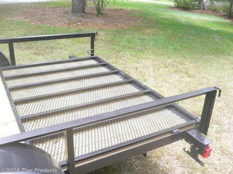 Triple Crown 7 x 12 SA ATV Trailer w/side and rear ramps