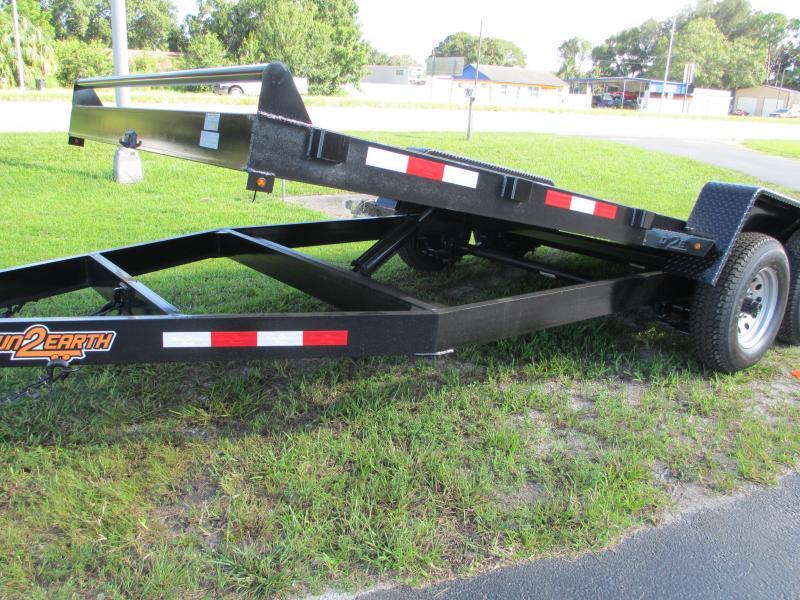20' 10K Tilt Deck Car Hauler Gravity Tilt No more wrestling with ramps!!