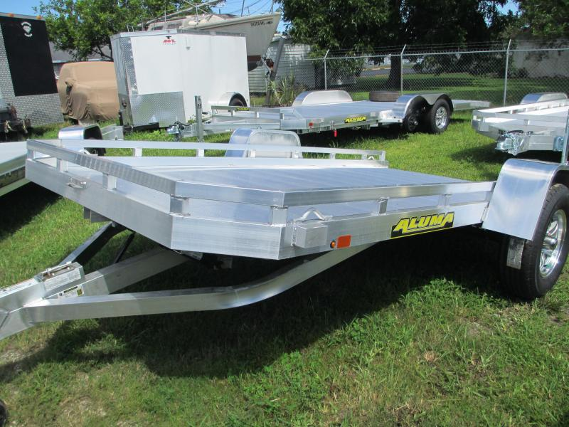 "NEW 6'5"" x 12'1""  Aluminum TILT Bed Utility Trailer"