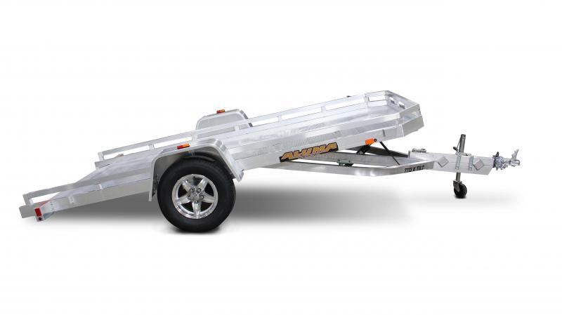 """NEW 6'6"""" x 12'1""""  Aluminum Tilt Bed Utility Trailer"""