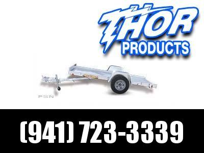 """NEW 4'6"""" x 10' Aluminum TILT Utility Trailer"""