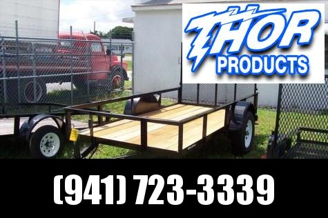 Triple Crown 5 x 10 SA Utility Trailer w/ramp