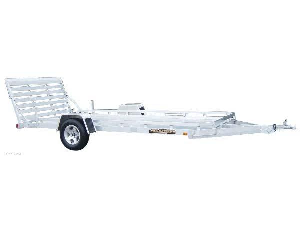 """NEW 6'6"""" X 14'2"""" S/A Aluminum Utility Trailer w/Bi-fold Gate!!"""