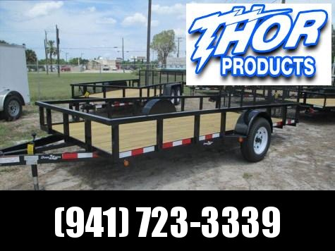 "NEW 6'10""4 x 14 SA Utility Trailer * 2"" Tube Top * ATV RAMPS IN SIDES"
