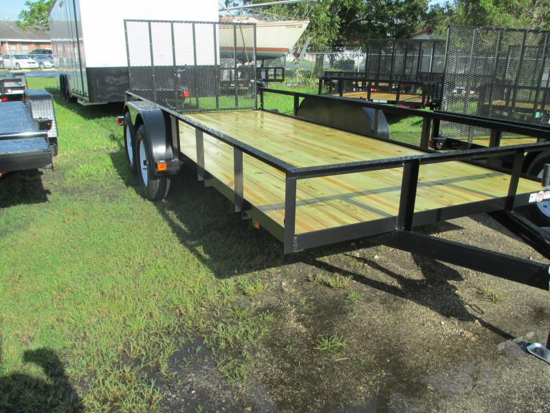 "NEW 6'4"" X 16 TA Utility Trailer w/no brake and Ramp"