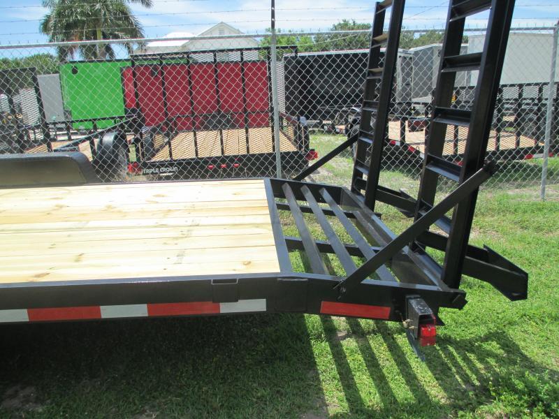 NEW 7x20 Equipment Trailer 14K w/ramps