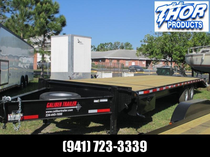 8x30 Deckover 14K Bumper Pull Equipment Trailer 25' + 5' Dovetail w/Monster Ramps in Ashburn, VA