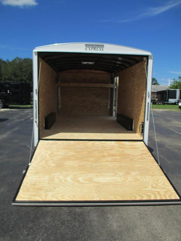 NEW 8x16 EXPRESS Commercial Duty Enclosed Trailer LANDSCAPERS DREAM!!
