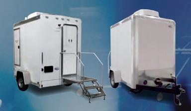 101B LuxuryLav Narrow Body Single Stall Restroom Trailer