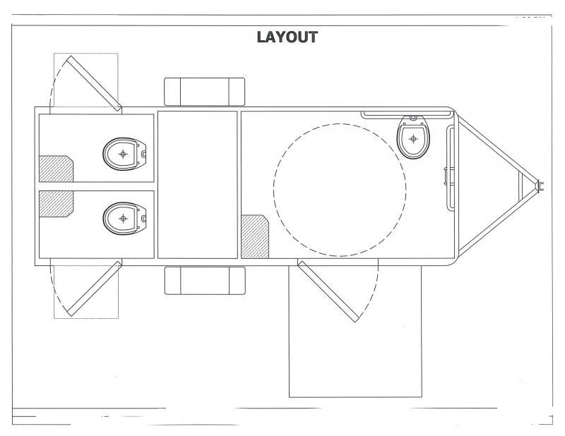 103 LuxuryLav Narrow Body 2+ADA Restroom