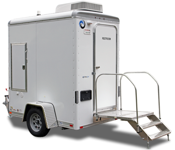 101C  LuxuryLav Single Stall Restroom Trailer