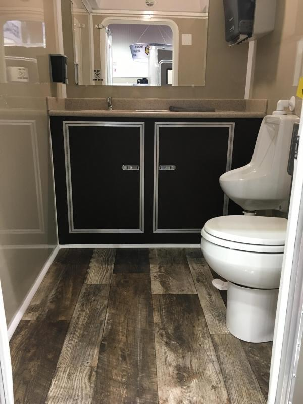 105 LuxuryLav Narrow Body 5 Mini Restroom Trailer