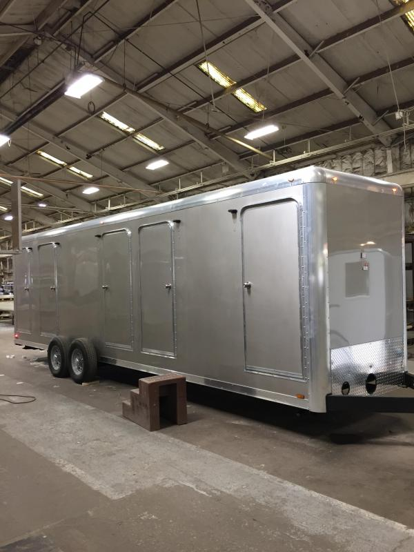 105B LuxuryLav Narrow Body 5 Combo Shower / Restroom Trailer