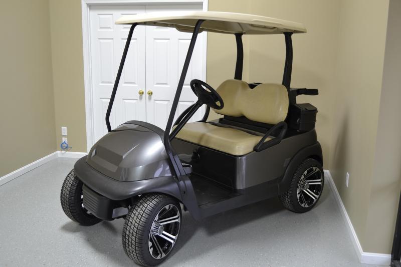 (Custom) 2015 Club Car Precedent (Gas) Golf Cart