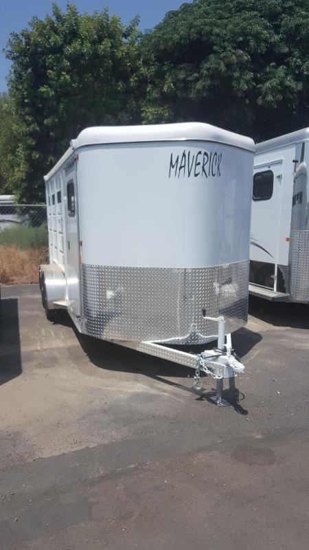2019 Maverick Steel 3 Horse Trailer Warmblood