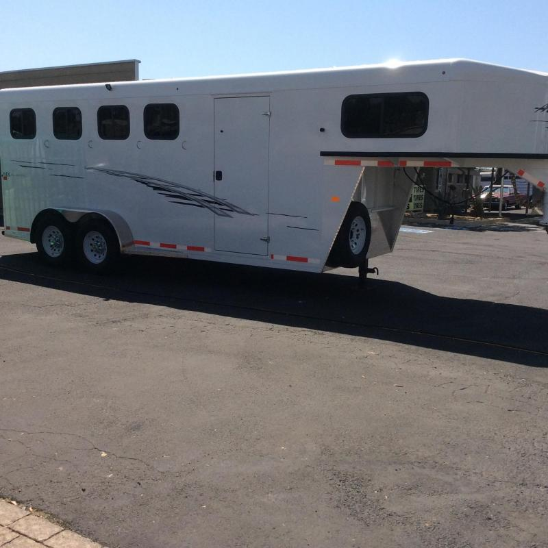 2019 Trails West Adventure MX  4 Horse Trailer (GN)