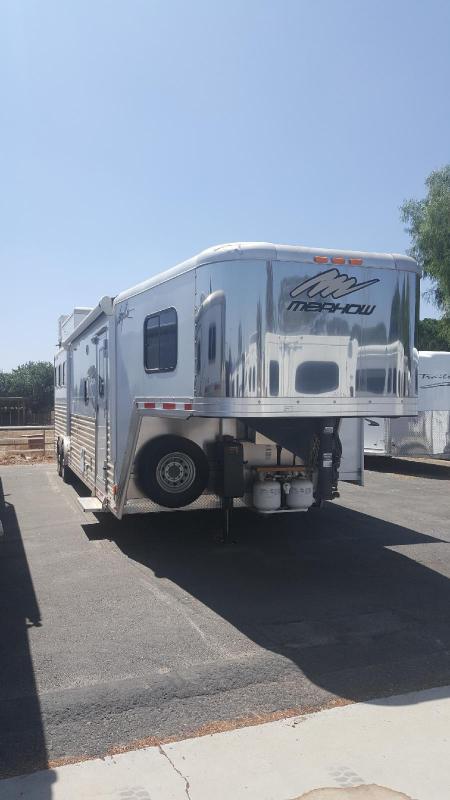2012 Merhow  SEIRRA 3 Horse Trailer w/LQ (GN)
