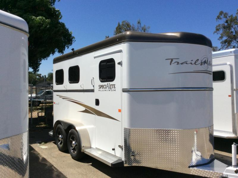 2018 Trails West Manufacturing Sierra 2 Horse Trailer