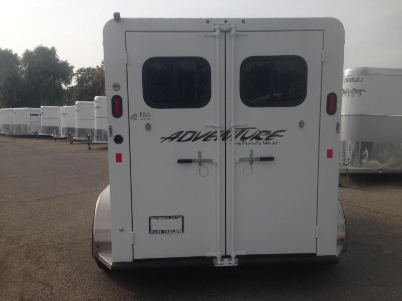 2019 Trails West 2 Horse Bp Trailer