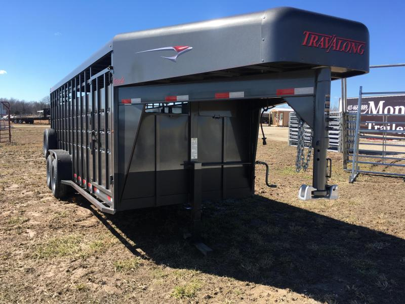 2019 Travalong Stock Livestock Trailer