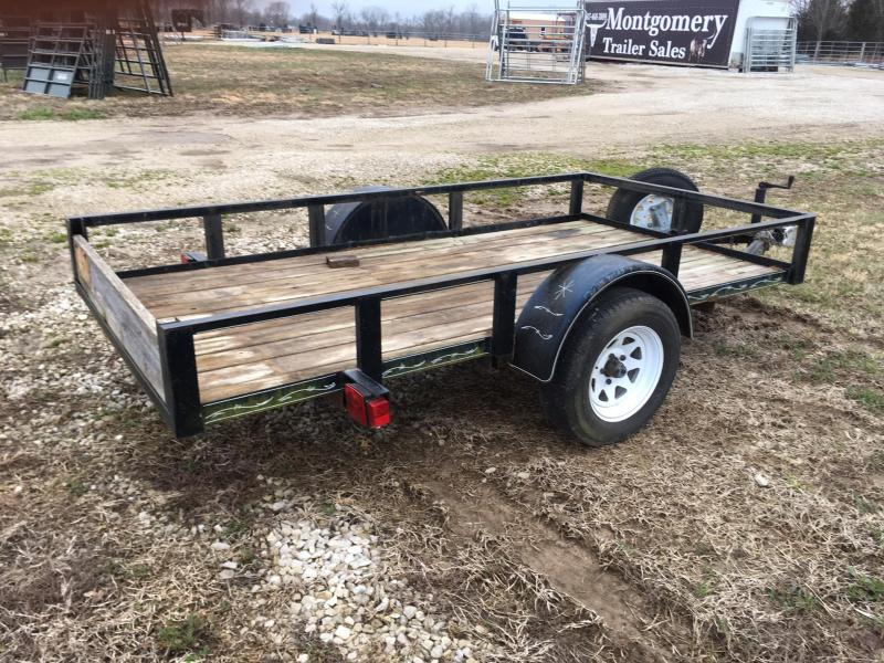 1998 Homemade 5 x 10 Utility Trailer