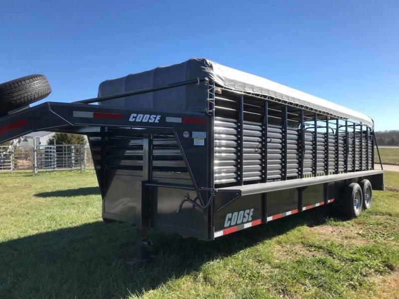 2018 Coose Livestock Trailer