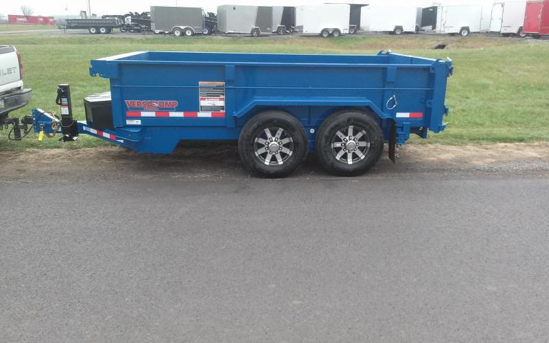 2018 Midsota 7X12 HV-12 Dump Trailer in Ashburn, VA