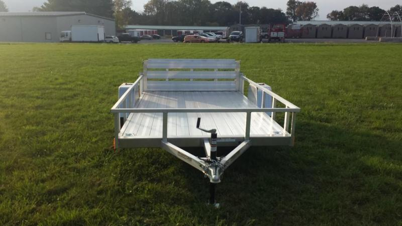 2019 Stealth 6-5x12 Alum Open Deck Rail Utility Trailer in Ashburn, VA