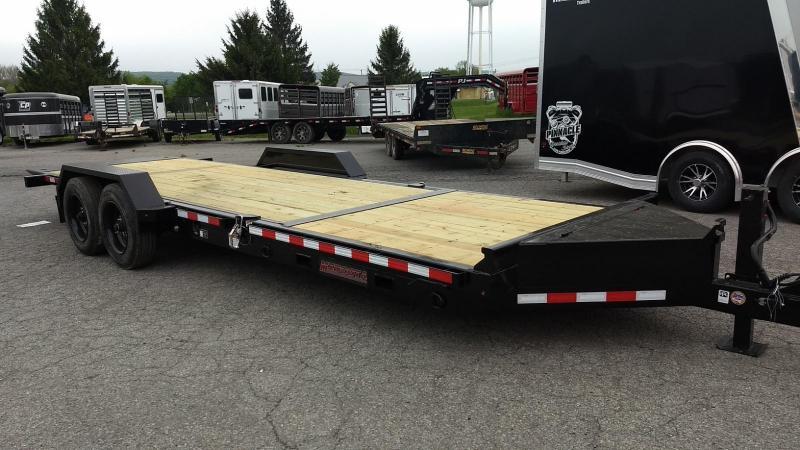 2019 Midsota 7x18+6 17.6K tilt deck Equipment Trailer
