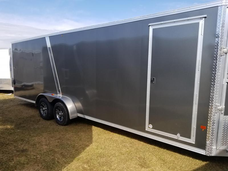 2018 Mission EZES 7x24+4 Enclosed Snowmobile Trailer