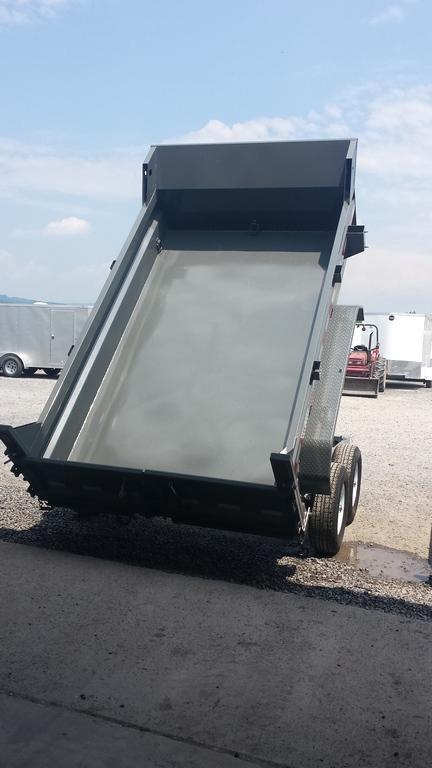 2019 Sure-Trac 6x10 Low Profile Dump Trailer