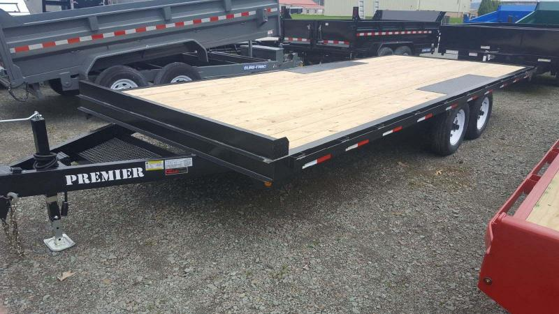 2018 Premier Trailers Inc. 20 10K Deck-Over Equipment Trailer