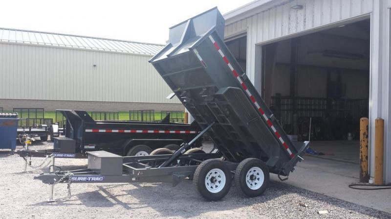 2019 Sure-Trac 6x10 Low Profile Dump Trailer
