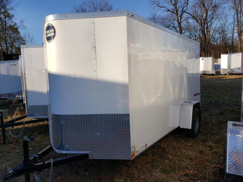 2019 Wells Cargo 6x12 Fast Trac Enclosed Cargo Trailer