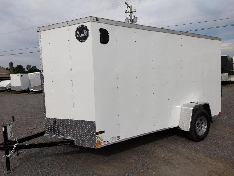 2019 Wells Cargo 300 Series 6x12 Enclosed Cargo Trailer in Ashburn, VA
