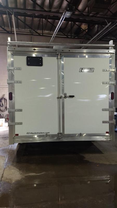 2019 Mission 8x16 10k all aluminum Enclosed Contractor Trailer