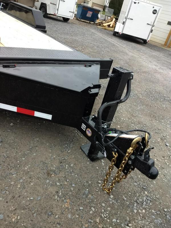 2019 Midsota 7x18 15.4K GVW Skid Loader Equipment Trailer