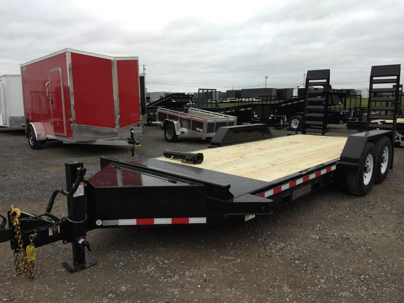 2019 Midsota 7x18 15.4K GVW Skid Loader Equipment Trailer in Ashburn, VA