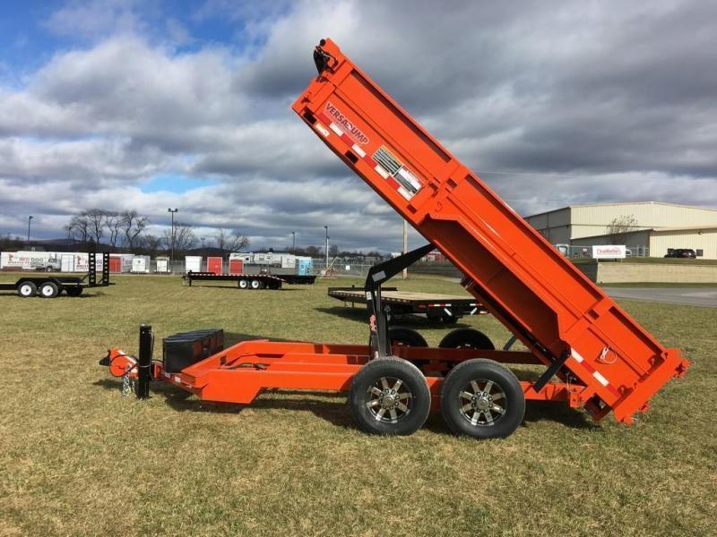 2019 Midsota 7X14 HV-14 Dump Trailer in Ashburn, VA
