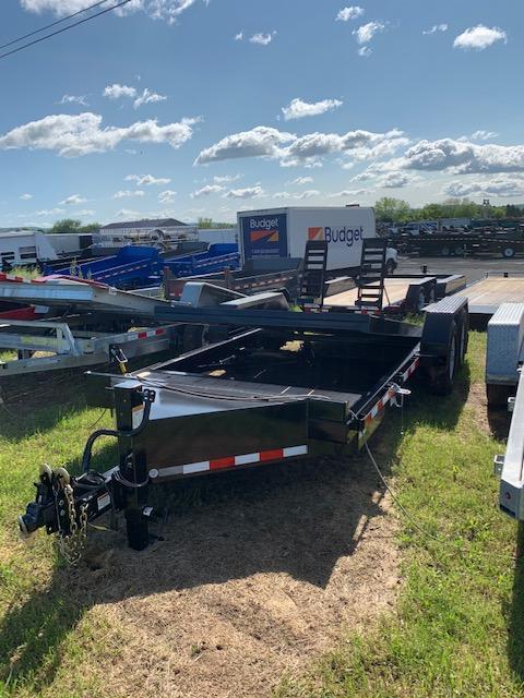 2018 Midsota 7x18+2 15.4K tilt deck Equipment Trailer