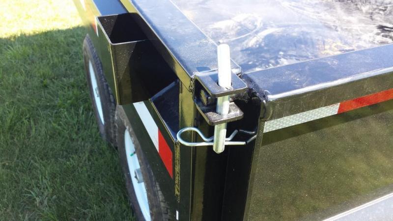 2017 Sure-Trac 6x10 Deckover Dump Trailer