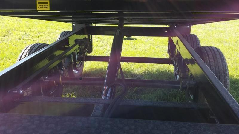 2019 Sure-Trac 6x10 Deckover Dump Trailer