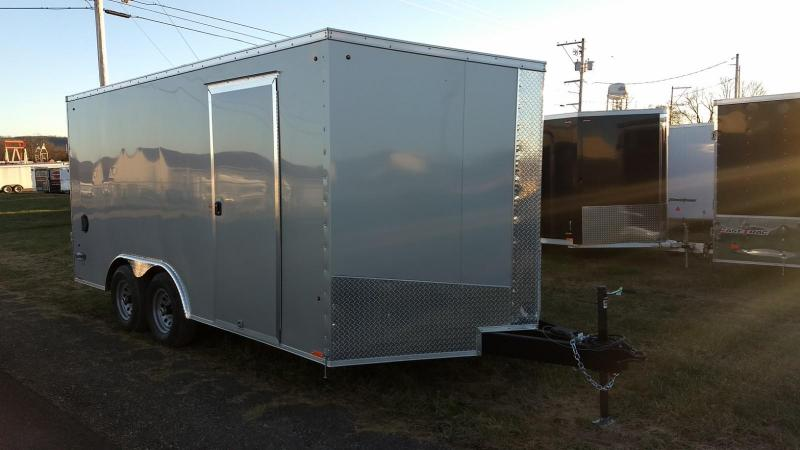 2019 Look Trailers 8.5 x 16 10K Enclosed Trailer