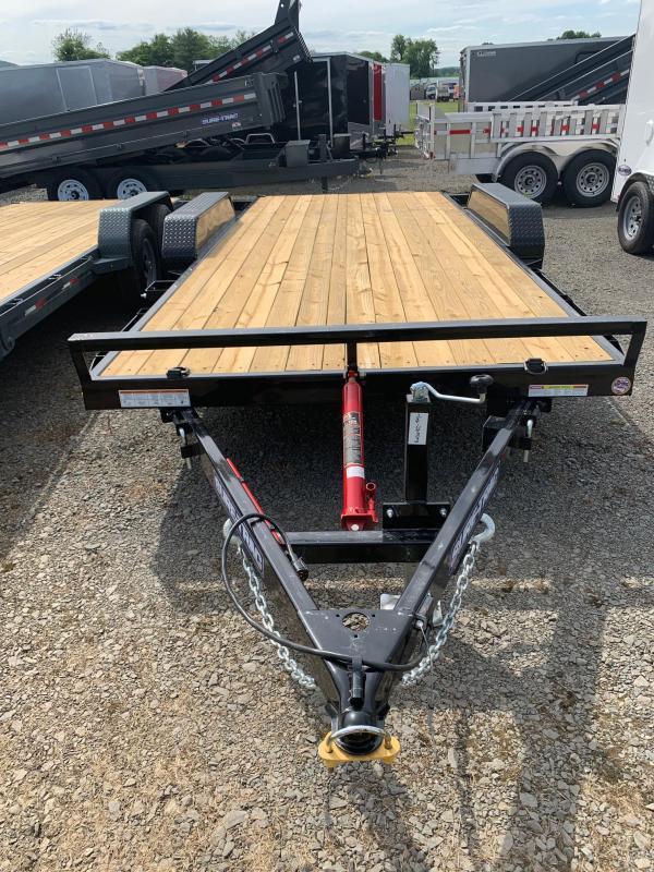 2019 Sure-Trac 7x18 7k Tilt Car / Racing Trailer