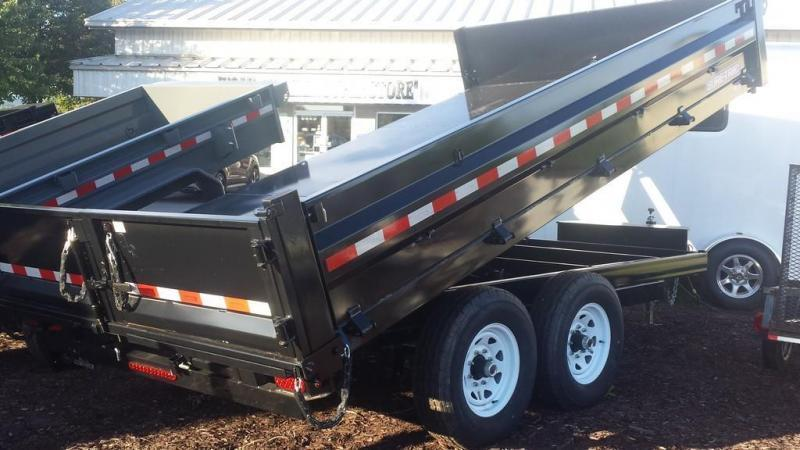 2018 Sure-Trac 96x14 Deckover Dump Trailer