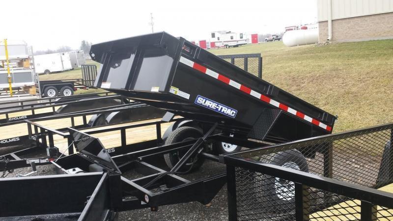 2018 Sure-Trac 5x8 Low Profile Dump Trailer