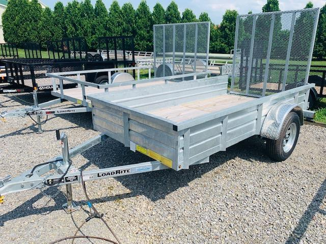 2018 Load Rite 5x10 Galvanized Solid Side Utility Trailer in Ashburn, VA