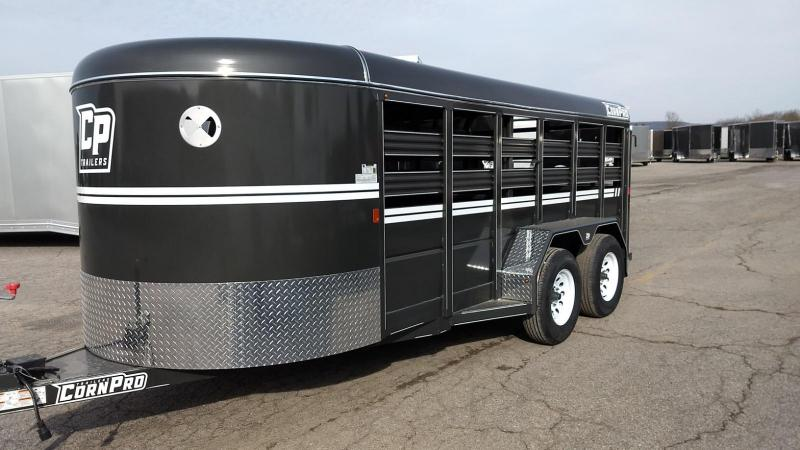 2019 CornPro Trailers 6x16 Livestock 7k Livestock Trailer